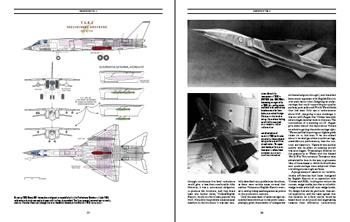 Example page spread - Designing TSR2 (preliminary brochure configuration)